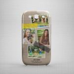 Beležnica poklon maska za mobilne telefone