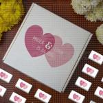 Srca poklon kutija sa čokoladicama