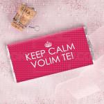Keep calm poklon čokolada