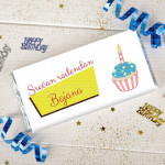 Srećan rođendan poklon kutija sa čokoladicama