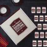 Čestitka mladencima poklon kutija sa čokoladicama
