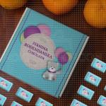 Rođendanska sa balonima poklon kutija sa čokoladicama