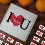 Zaljubljena poklon kutija sa čokoladicama