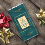 Srećna slava tebi i ukućanima poklon čokolada
