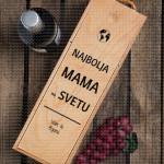 Najbolja mama na svetu poklon kutija za vino