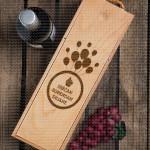 Srećan rođendan ime poklon kutija za vino