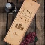 Za srećan rođendan poklon kutija za vino