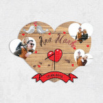 Poklon sat triple heart