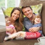Porodična fotografija poklon jastučnice i jastuci