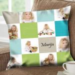 Kvadratići sa slikama poklon jastučnice i jastuci