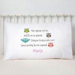 Ne spava mi se poklon jastučnice i jastuci