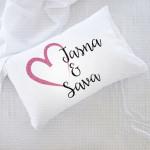 Imena u srcu poklon jastučnice i jastuci