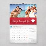 Kuća je tamo gde ti je srce poklon kalendar