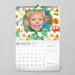 Automobilčići poklon kalendar za dečake