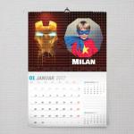 Moj Iron Man poklon kalendar za dečaka