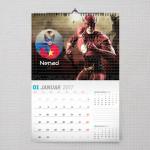 Flash Gordon poklon kalendar za dečaka