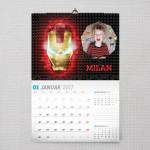 Neverovatni Iron man poklon kalendar za dečaka