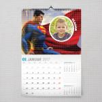 Superman u akciji poklon kalendar za dečaka