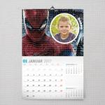 Spiderman poklon kalendar za dečaka