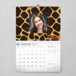 U leopardovom stilu poklon kalendar za devojku