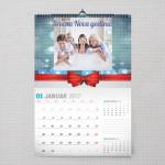 Mašnica poklon kalendar za Novu Godinu