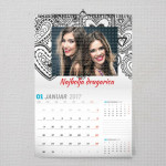 Najbolja drugarica poklon kalendar