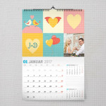 Romantični trenuci poklon kalendar za zaljubljene