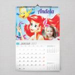 Na dnu okeana poklon kalendar za devojcice