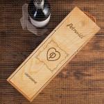 Porodične uspomene poklon kutija za vino