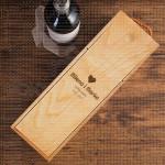 Srebrna svadba poklon kutija za vino