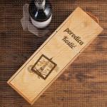 Porodična sa markicom poklon kutija za vino