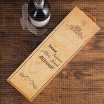 Imena porodična poklon kutija za vino