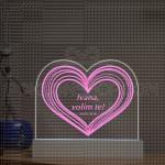 Poruka iz srca poklon lampa