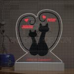 Mačkice poklon lampa