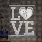 Love poklon lampa
