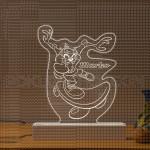 Tasminijski đavo na skejtu poklon lampa