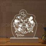 Miki i Mini poklon lampa