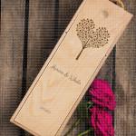 Drvce ljubavi poklon kutija za vino