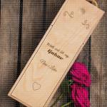 Ti ćeš uvek biti moja ljubav poklon kutija za vino