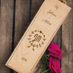 Par imena poklon kutija za vino