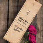 20 godina zajedno poklon kutija za vino