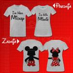 Moj Mickey i Minnie poklon majice i duksevi