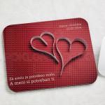 Srce od papira poklon podloga za miša