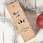 Bako i deko volimo vas poklon kutija za vino