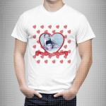 Ljubav u srcu poklon majice i duksevi