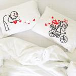 Sva moja ljubav je za tebe poklon jastučnice