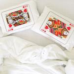 Kralj i dama poklon jastučnice