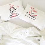 Morska ljubav poklon jastučnice
