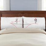 Linija ljubavi poklon jastučnice