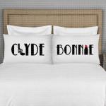 Bonnie i Clyde poklon jastučnice
